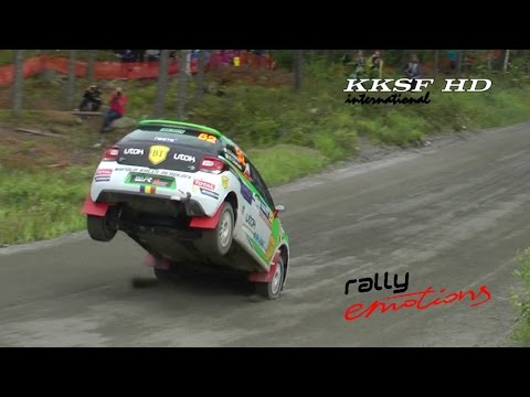 WRC Rally Finland 2015 | MAX ATTACK | JUMPS And SPEED