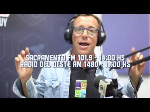 RAFA VILLANUEVA  EN RADIO DEL OESTE Y SACRAMENTO FM