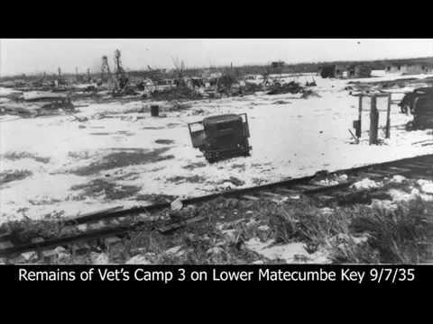 1935 Labor Day Hurricane Graphic Death Destruction