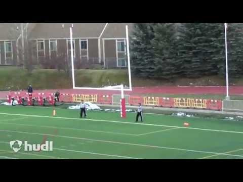 Kicking and Football Highlights - Jeff Rogers - Cedar City High School Utah
