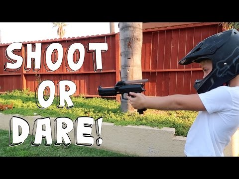 Thumbnail: SHOOT OR DARE PAINTBALL GUN CHALLENGE!