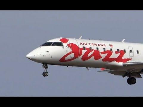 Air Canada , Air Canada Jazz , Air Canada Express At Chicago O'Hare International Airport ORD