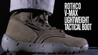 V-Max Lightweight Tactical Boot - Rothco Product Breakdown