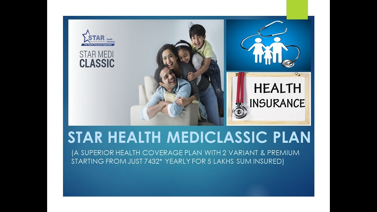 Star Health Insurance   Mediclassic Policy   Basic & Gold ...