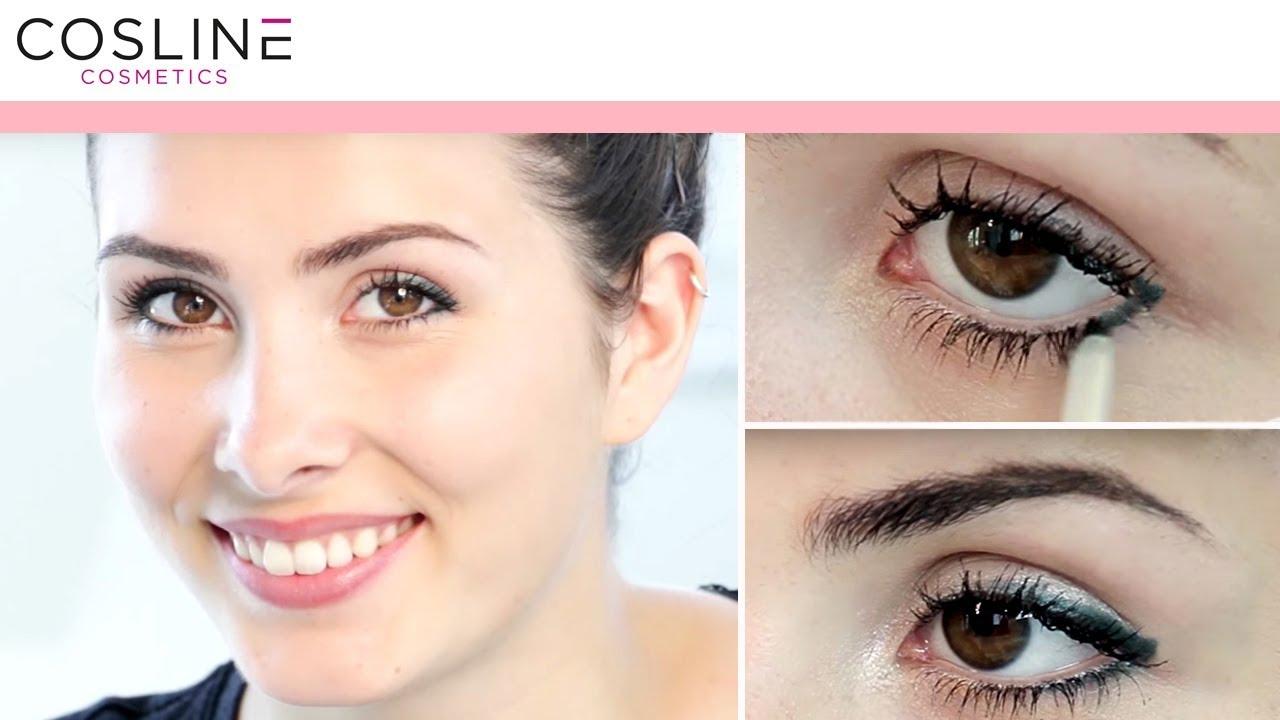 Braune Augen Richtig Schminken Dein Makeup Tutorial Youtube