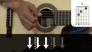 Tocando em Frente - Almir Sater (aula de violão simplificada)