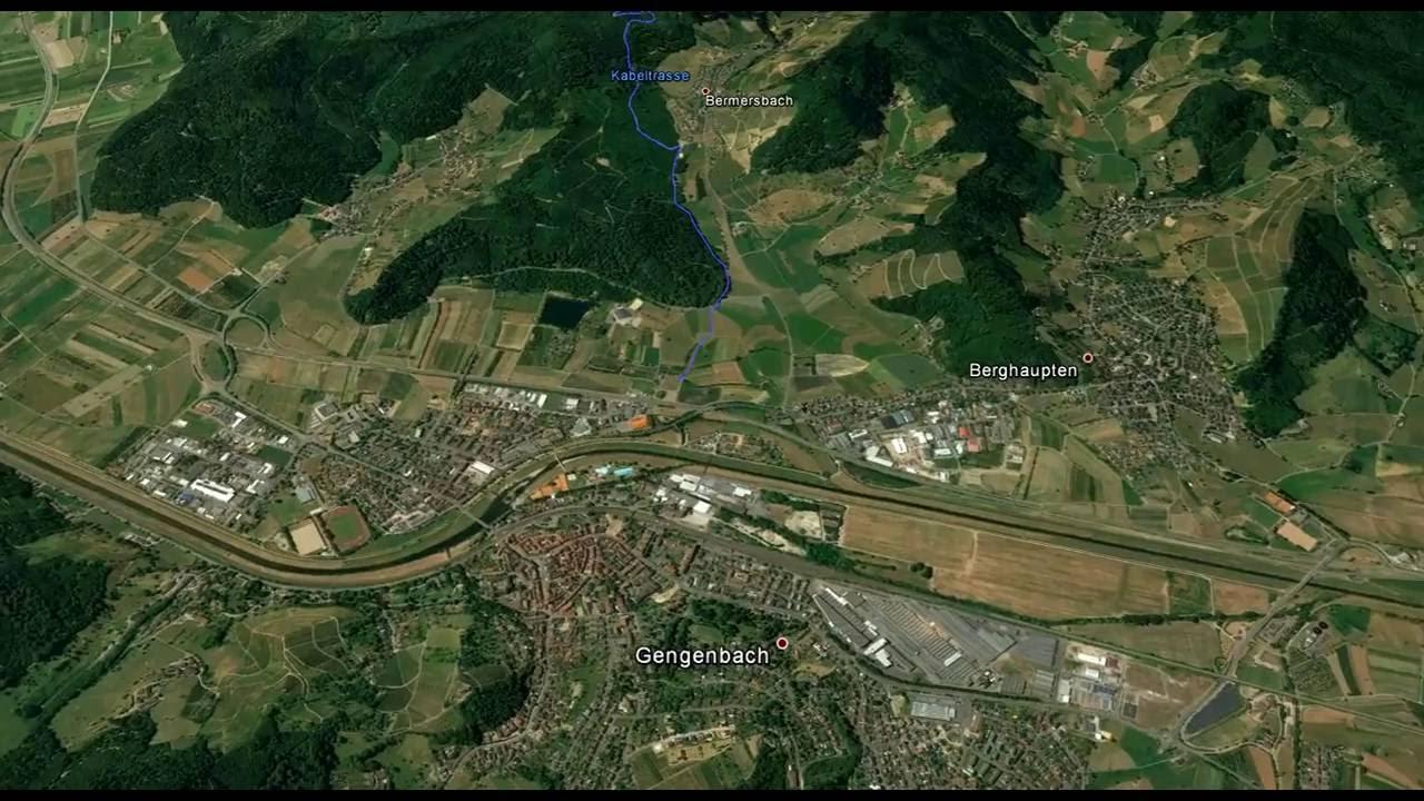 Visualisierung des Windparks Rauhkasten/Steinfirst - YouTube