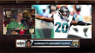 "Dan Patrick on Jalen Ramsey's QB Trash Talk: ""I Loved It!"" 