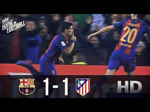 Barcelona Vs Atletico Madrid 1-1 All Goals and Highlights (Copa Del Rey) 07.02.2017 HD