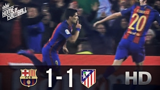 Barcelona Vs Atletico Madrid 1-1 All Goals and Highlights (Copa Del Rey) 07.02.2017 HD