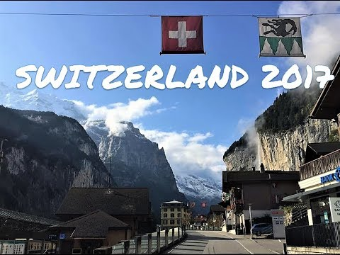 Vlog # 4 Travel : Switzerland Bernese Oberland  2017