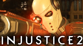 Injustice 2: Deadshot Gameplay First Look! (Injustice Gods Among Us 2)