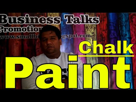 Distumper factory ( how to make chalk paint )