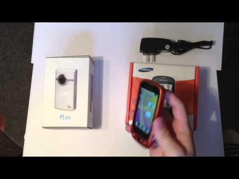 Шоппинг в Америке. Камера Flip HD и телефон Samsung sgh T749