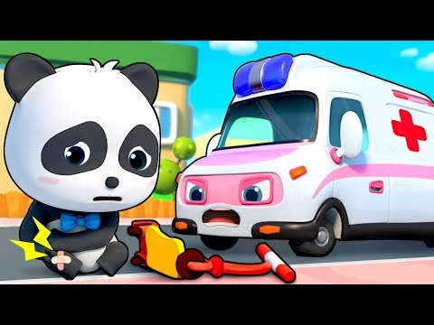 Ambulance Rescue Team - Doctor Cartoon, Fire Truck - Nursery Rhymes - Kids Songs - BabyBus 2