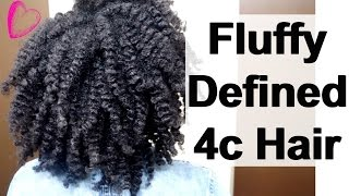 a defined flat twist out tutorial on 4c natural hair in 5 easy steps   hairstyle