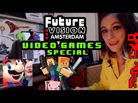 Future Vision Amsterdam - Game Jam, Minecraft & Mario (Full Episode)【HD】