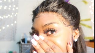Maxine Hair Initial Review + How To Make Baby Hair !