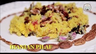 How To Make Iranian Pilaf By Gitika || #bemyvalentine