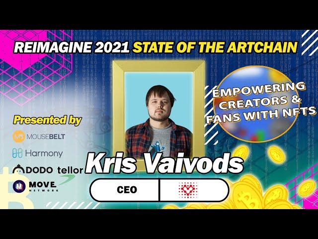 REIMAGINE 2021 - Kris Vaivods - Vorto Gaming - Monetizing gaming