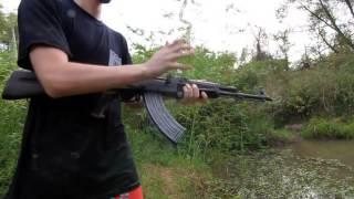 AK 47 Underwater Torture Test