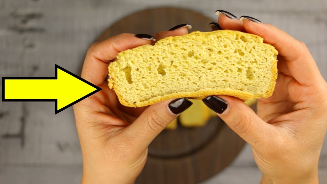 Receta de pan para dieta cetogenica