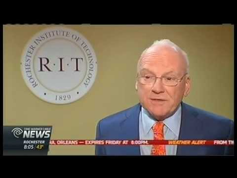 RIT on TV: Cyber Security expert Clarke speaks at RIT - TWC