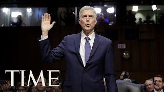 Senate Votes And Confirms Neil Gorsuch For U.S. Supreme Court | TIME