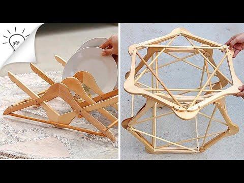 25-top-creative-diy-ways-to-repurpose-hangers-recycle-design-ideas