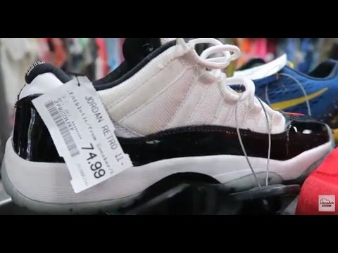 Hunt For Sneaker Steals At Cheapskate for Less Consignment Thrift Shop