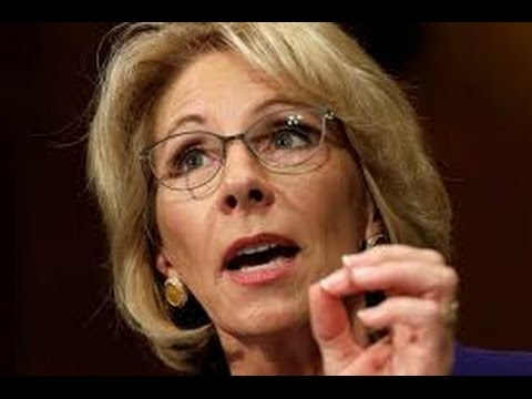 Betsy DeVos just screwed over people with Student Loans