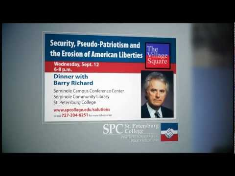Institute for Strategic Policy Solutions- Dinner with Attorney Barry Richard