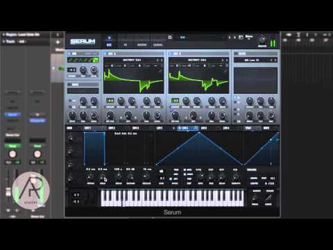 Serum Sound Design Quick Tip - How to make a Trap/R&B Lead