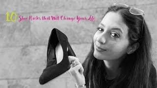 10 Shoe Hacks that will Change your Life I 10 حيل لإرتداء الحذاء ستغير حياتك