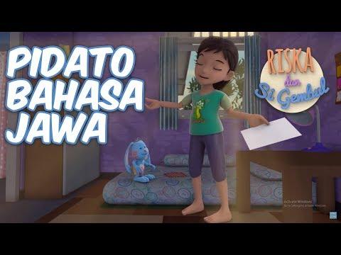 Riska dan Si Gembul - Pidato Bahasa Jawa