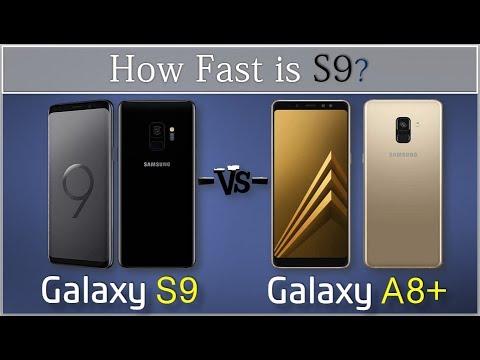galaxy a8 vs samsung s9