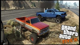 GTA 5 ROLEPLAY - SQUARE BODY CHEVY RIPPING OFFROAD PT.2  - EP. 527 - CIV