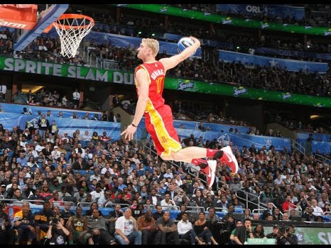 NBA White Guys Dunking