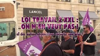 Manifestation du 21 septembre 2017 Bordeaux