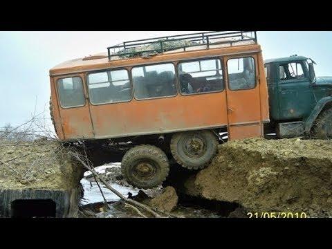 ПО бездорожью севера России на полноприводных  грузовиках Russian Roads