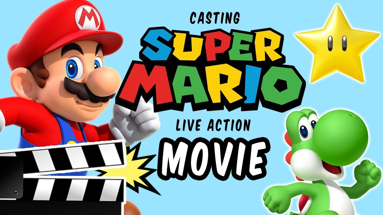 Casting The Perfect Live Action Super Mario Bros Movie Fan Casting By Evil E Youtube