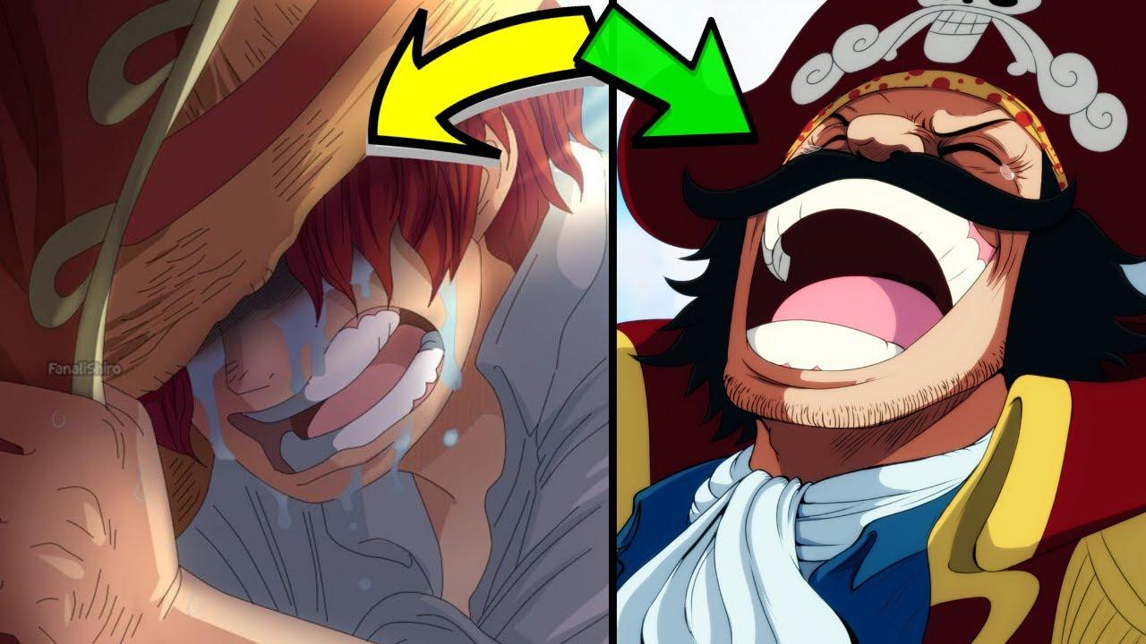 【海賊王】羅傑海賊團是在笑的是什麼?? 紅髮為什麼會哭泣?? 拉夫德魯 - YouTube