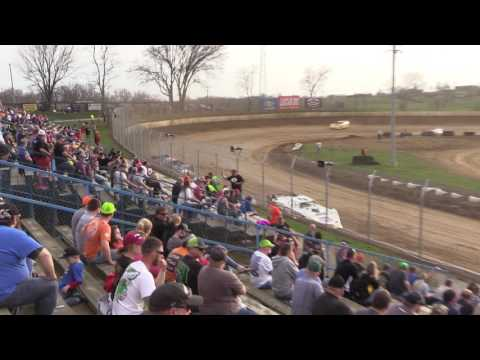 Super Late Model Heat #1 from Florence Speedway, March 25th, 2017.