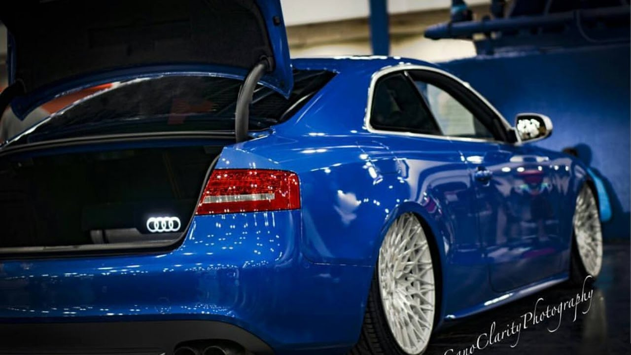 Stereo Build In A Bagged Audi S5 8 15 The Pos