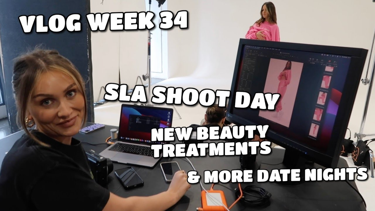VLOG | FIRST LOOK AT THE NEW SLA COLLECTION, BEAUTY TREATMENTS & MORE DATE NIGHTS