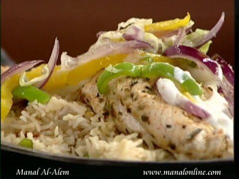 فاهيتا الدجاج مع الارز - مطبخ منال العالم
