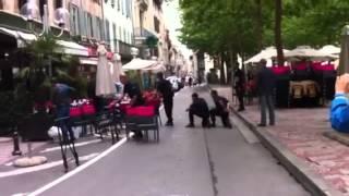 Prise d'otage Carcassonne Place Carnot