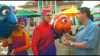 Cast of Finding Nemo Behind The Scenes
