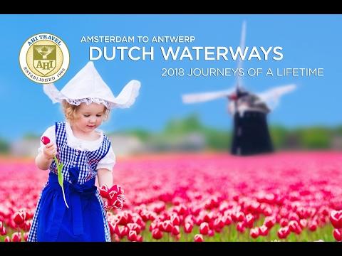 AHI Travel Holland and Belgium - Dutch Waterways Cruise from Amsterdam to Antwerp