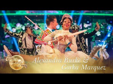 Alexandra and Gorka Charleston to 'Supercalifragilistic' - Strictly Come Dancing 2017